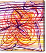 2007 Abstract Drawing 2 Canvas Print