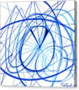 2007 Abstract Drawing 3 Canvas Print