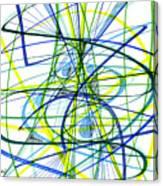 2007 Abstract Drawing 5 Canvas Print