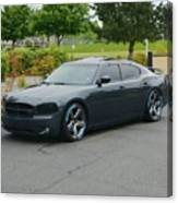 2007 Dodge Charger Rt Lee Canvas Print