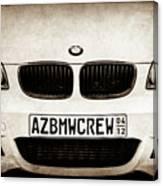 2008 Bmw Grille Emblem -1136s Canvas Print