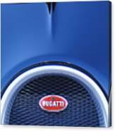 2008 Bugatti Veyron Hood Ornament Canvas Print