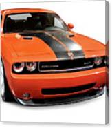 2008 Dodge Challenger Srt Muscle Car Canvas Print