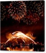 2008 Fireworks 4 Canvas Print