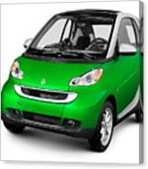 2008 Smart Fortwo City Car Canvas Print