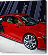 2009 Audi R8 Number 1 Canvas Print