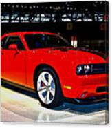 2009 Dodge Challenger Number 2 Canvas Print