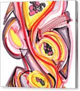 2010 Abstract Drawing Nine Canvas Print