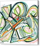 2010 Abstract Drawing Seventeen Canvas Print