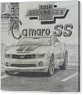 2010 Chevrolet Camaro Ss  Canvas Print