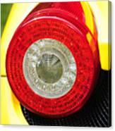 2012 Ferrari 458 Spider Brake Light Canvas Print
