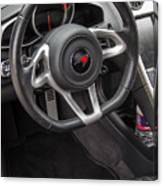 2012 Mc Laren Steering Wheel Canvas Print