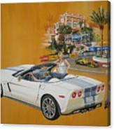 2013 Chevrolet Corvette Canvas Print
