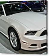 2013 Ford Mustang No 1 Canvas Print