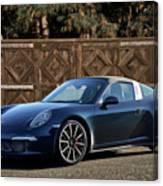2014 Porsche 911 Targa 4s I Canvas Print