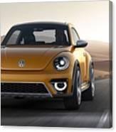 2014 Volkswagen Beetle Dune Concept Canvas Print