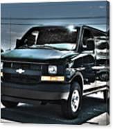 2015 Chevrolet Express Van Canvas Print