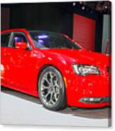 2015 Chrysler 300 Sport Canvas Print