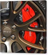 2015 Dodge Challenger Srt Hellcat Wheel Canvas Print