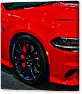 2015 Dodge Charger Srt Hellcat Canvas Print