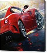 2015 Ferrari 599 Gtb Fiorano Canvas Print