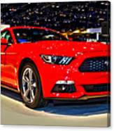 2015 Ford Mustang Coupe I4 Premium Canvas Print