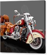 2015 Indian Chief Vintage Motorcycle - 3 Canvas Print
