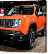 2015 Jeep Renegade Trailhawk Number 3 Canvas Print