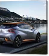 2015 Nissan Sway Concept 3  1 Canvas Print