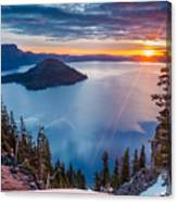 2015 Spring Sunrise From Discovery Point Canvas Print