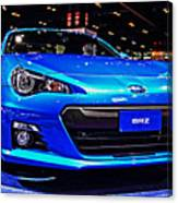 2015 Subaru Brz Canvas Print