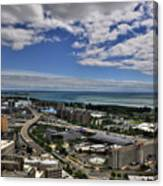 2015 View Of The Skyway  Canvas Print