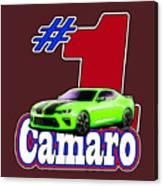 2016 Camaro Canvas Print