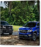 2016 Chevrolet Colorado Midnight Edition Trail Boss Canvas Print