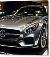 2016 Mercedes-amg Gts Canvas Print