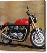2016 Triumph Motorcycle Canvas Print