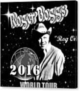 2016 World Tour Canvas Print