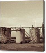 2016_10_pecos Tx Battery Tanks 1 Canvas Print