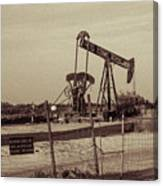 2016_10_pecos Tx_ Pump Jacks 1 Canvas Print