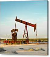 2016_10_pecos Tx_pump Jacks 2 Canvas Print