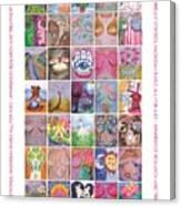 2017 Commemorative Breast Strokes Poster Canvas Print