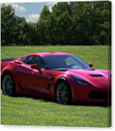 2017 Corvette Canvas Print