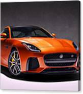2017 Jaguar F Type Canvas Print