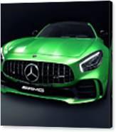 2017 Mercedes Amg Gt R Coupe Sports Car Canvas Print