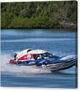 2017 Taree Race Boats 01 Canvas Print