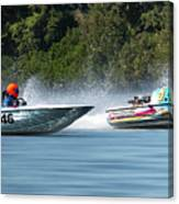 2017 Taree Race Boats 08 Canvas Print