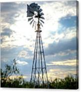 2017_08_midland Tx_windmill 2 Canvas Print