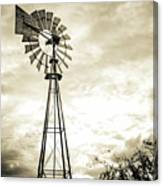 2017_08_midland Tx_windmill 3 Canvas Print