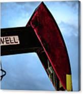 2017_09_midkiff Tx_oil Well Pump Jack Closeup 2 Canvas Print