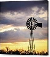 2017_09_midland Tx_windmill 3 Canvas Print